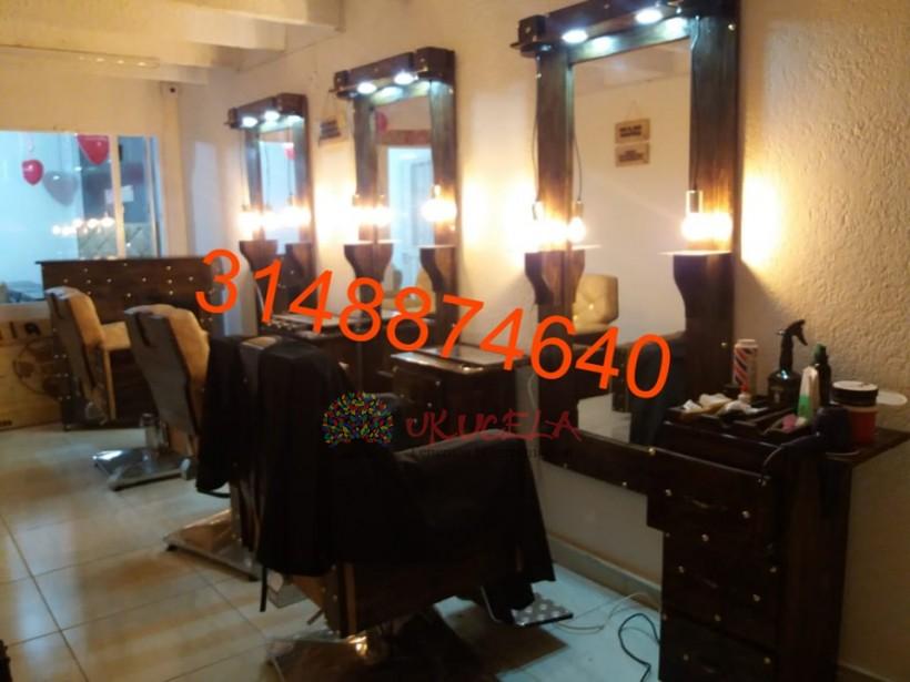 muebles de barberia